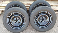 Audi,VW,-R15,5*112,ET-37+*Good Year*195/65 R15, 4шт