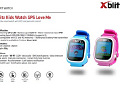 XBlitz Kids Watch GPS-Love Me blue Детские умные часы
