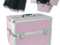 Cosmetic case 38,8x25x29 cm pink CA3P