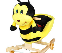 Rocking chair on wheels - bee (00004969)