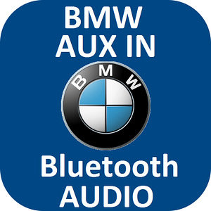 BMW AUX/Bluetooth 4.0 Audio: E90,E91,E92,E60,E61,E70,E71,E83