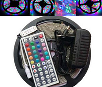 LED ūdensaprāde led tape 5 m ar remote control box