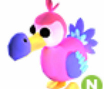 Mega neon fly ride dodo from roblox for game