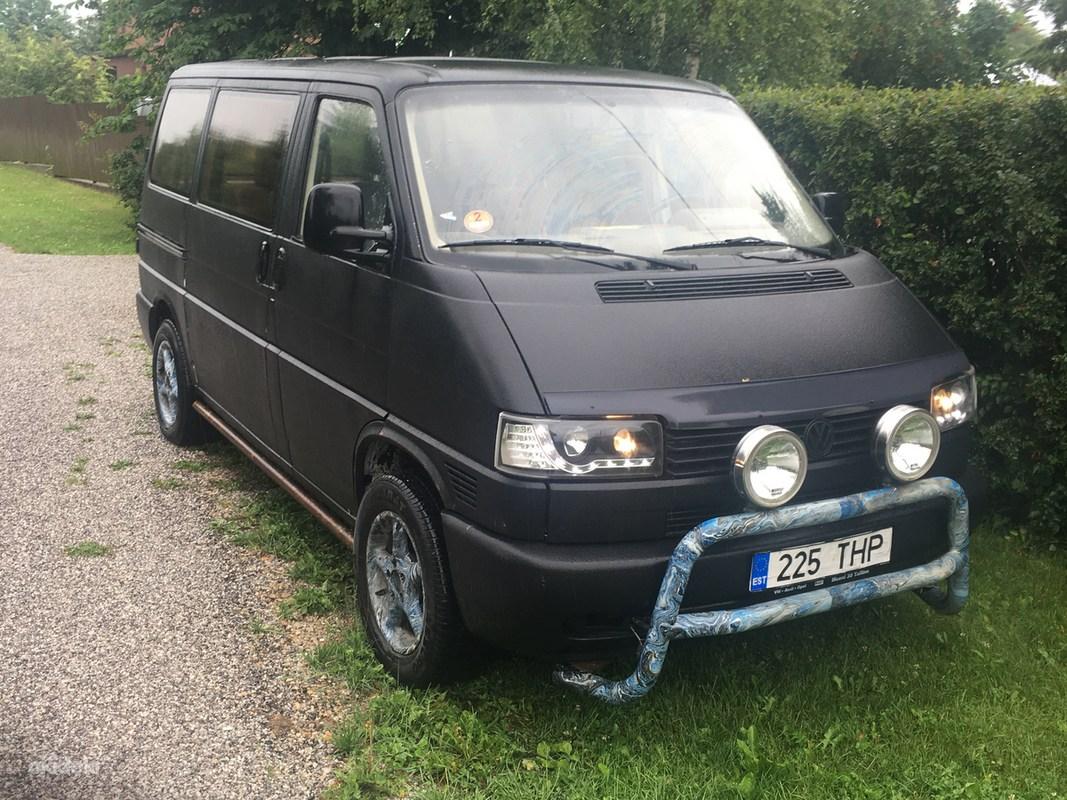 VW Transporter 2.5 TD 75 kw 8 kohta - Raasiku, Raasiku vald, Harjumaa - T4, T4 muud osta ja müü – okidokiokidoki