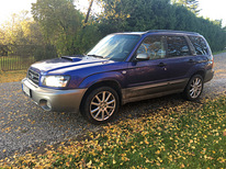 Subaru Forester 2002 2.0 130kw Turbo