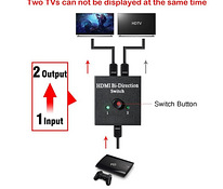 HDMI Splitter Full HD 1x2 or 2x1