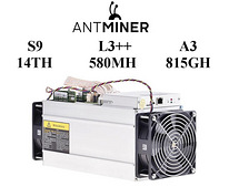 Antminer S9-14TH / UUS L3++ 580MH / A3 815GH