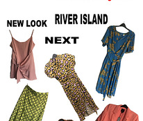 Uued Riided NEXT, NEW LOOK, RIVER ISLAND