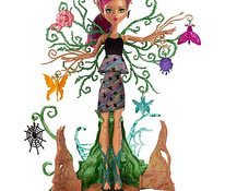 Monster High lelle - Garden Ghouls Treesa Thornwillow -35%