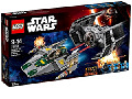 LEGO Star Wars Vader TIE Advanced vs AWing Starfighter 75150