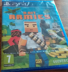 Playstation 4 mäng 8BIT ARMIES (uus)