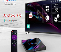 Tv-box Android 9.0 RK 3318 H96 max, 2 GB/16 GB - garantii