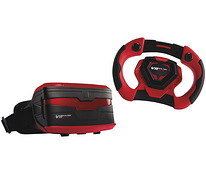 VR mask + rallirool Real Feel Racing BT - garantii