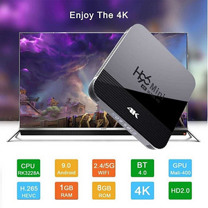 Uus TV Box Android 9.0 wifi