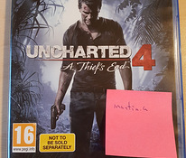 Uncharted 4, PS4, Playstation 4