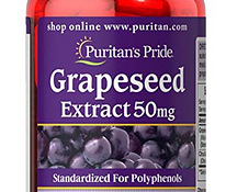 Grapeseed Extract 50 mg 100шт, Puritans Pride (Ameerika)