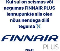 Finnair Plus lennupunktid (Finnair Plus award points)