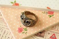 Wise Owl cute boho chic fashion accessory Ring