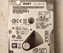 Kõvaketas HDD HGST 2,5 500GB SATA3 7200rpm 7mm