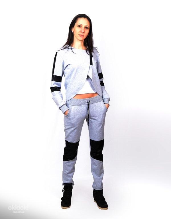 Стильний і модний жіночий спортивний костюм CK-0342 (фото  1) ... d95f9ab839621