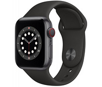 Новые Apple Watch Series 6 GPS + LTE 40mm Space Grey Alum