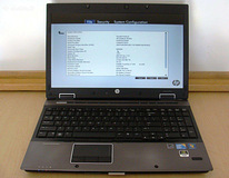 HP EliteBook 8540w I7 8 GB Ram 250 HDD Nvidia
