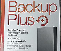Seagate Backup Plus Portable 5TB Black, uus