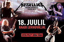 Metallica Golden Circle (fan zone) pilet