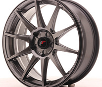 JR Wheels JR11 18×7,5 ET35-40 5H BLANK Dark Hyper Black