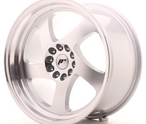 JR Wheels JR15 18×9,5 ET35 5×100/120 Silver Machined Face