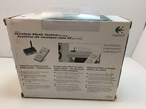 Wireless music system for ipod/mp3