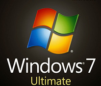 Windows 7 ultimate x86/64bit + usb flash + activation key