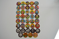 Mad Monsters caps pogs tazos chupa caps