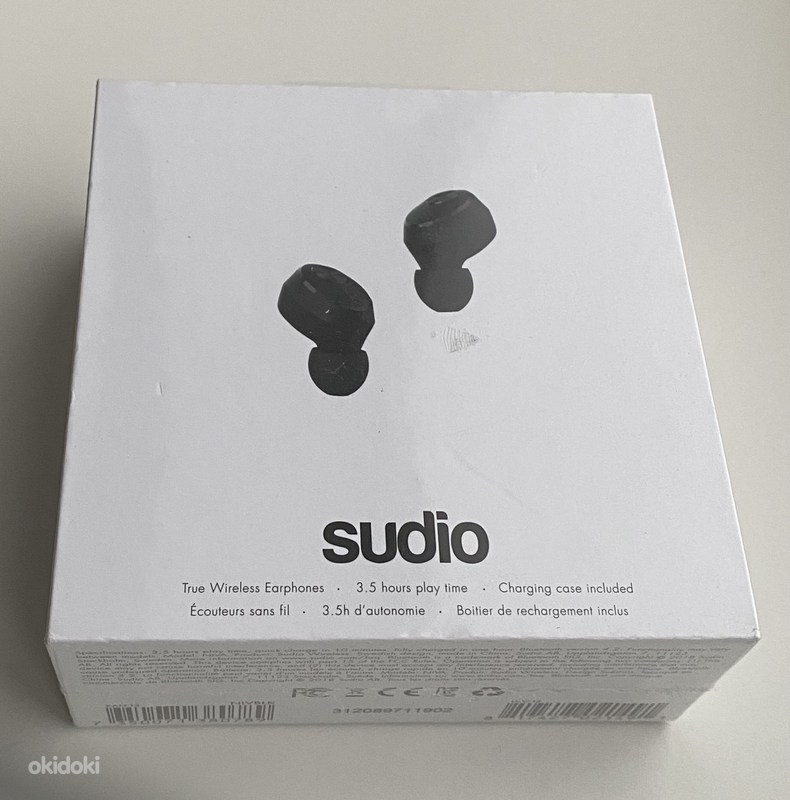 Sudio Nivå True Wireless Black/White (foto #1)