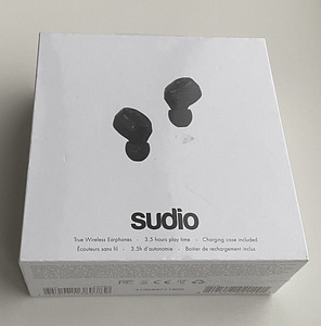 Sudio Nivå True Wireless Black/White