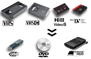 VHS digitaliseerimine / VHS digitalization